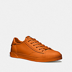 C136 LOW TOP SNEAKER - DARK ORANGE - COACH FG4411