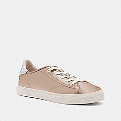 C136 LOW TOP SNEAKER - CHAMPAGNE - COACH FG4567