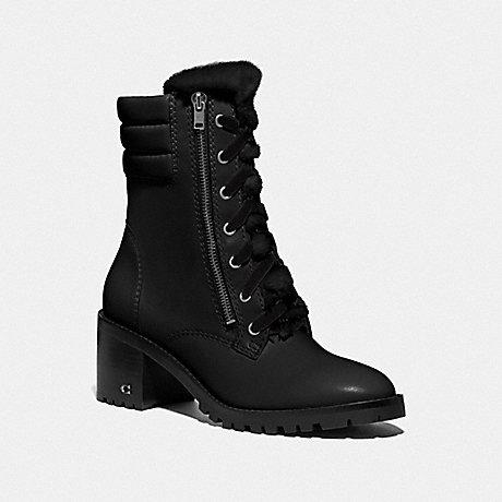 COACH JENNA BOOT - BLACK - FG4595