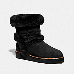 IZZIE BOOT - BLACK - COACH FG4597