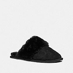 ZIVA SLIPPER - BLACK - COACH FG4608