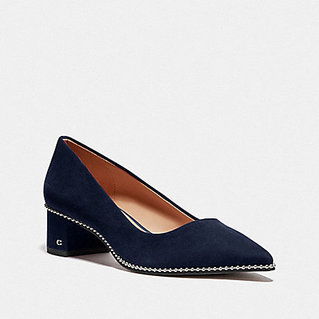 COACH WILLA PUMP - NAVY - FG4611