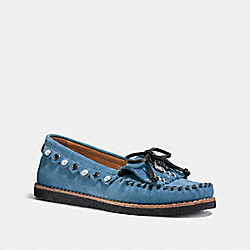 ROCCASIN SLIP ON - CHAMBRAY/CHAMBRAY - COACH G1210