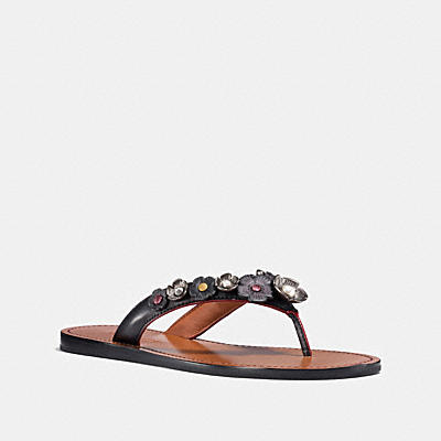 TEA ROSE MULTI THONG SANDAL