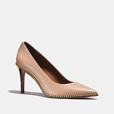 珠鍊厚底鞋