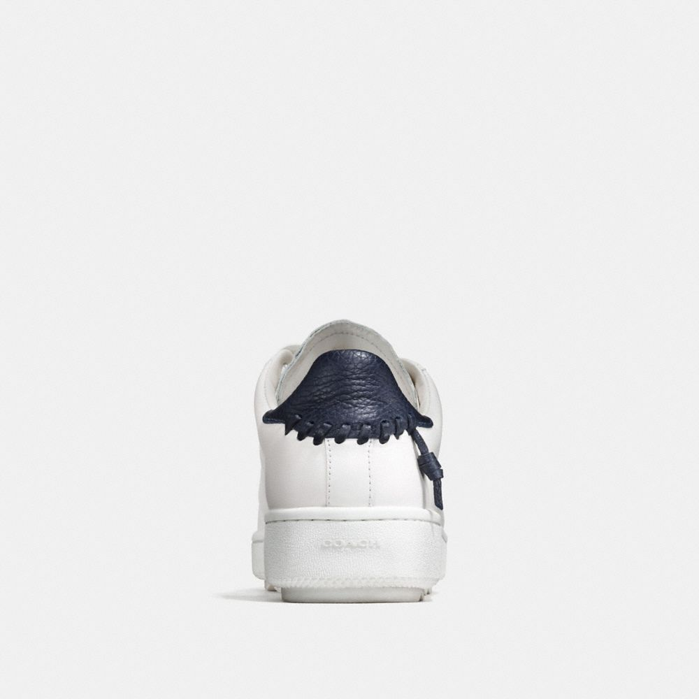 LEATHER C101 LOW TOP SNEAKER  - Alternate View