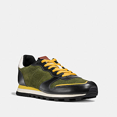 C118 麂皮皮革休閒鞋