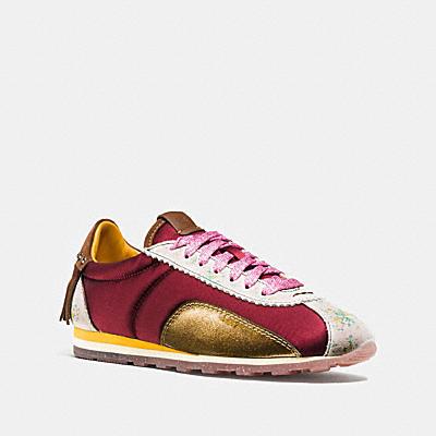 C122 印花麂皮流蘇休閒鞋