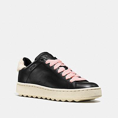 C101 翻皮羊毛裝飾休閒鞋