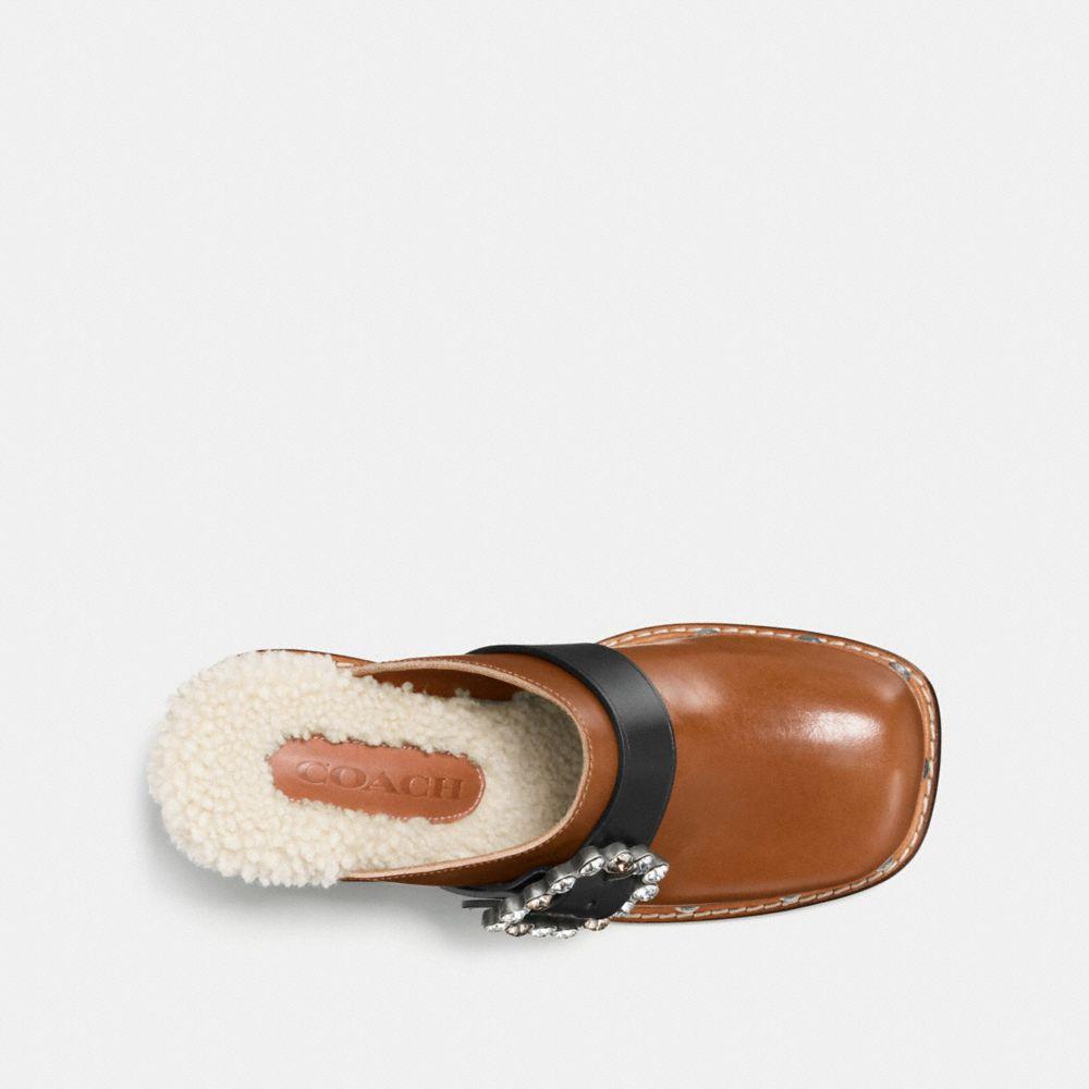 Coach Clog Slide With Glitter Heel Alternate View 2