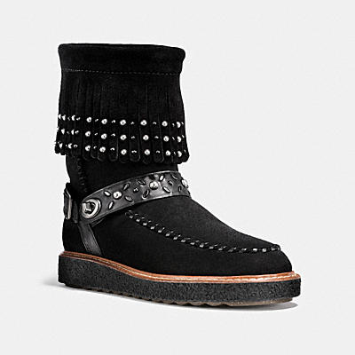 ROCCASIN SHEARLING BOOT