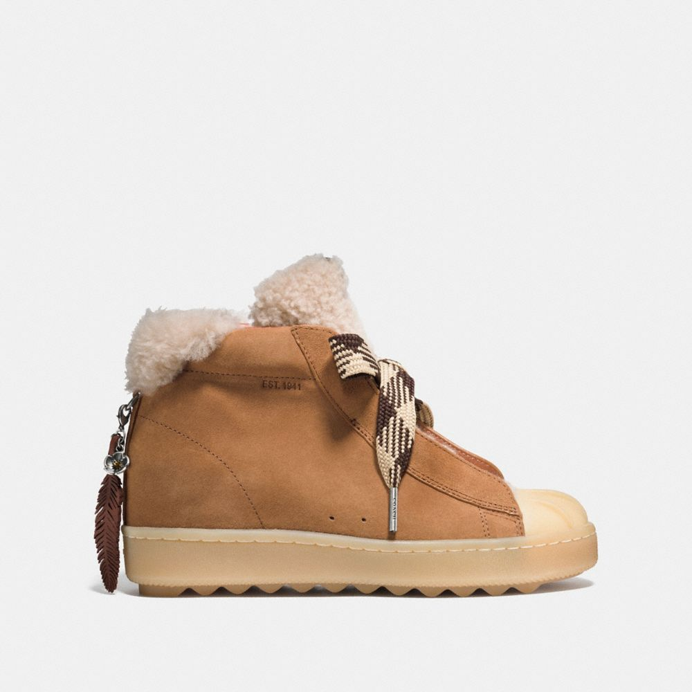 Coach High Top Hiker With Shearling Alternate View 1