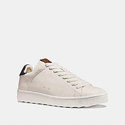 C101 LOW TOP SNEAKER - WHITE/NAVY - COACH G1512