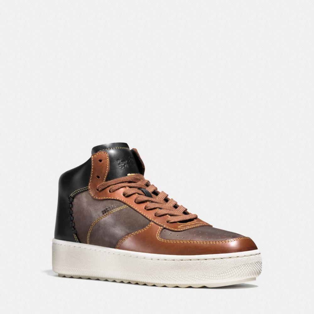 Patchwork C210 High Top Sneaker