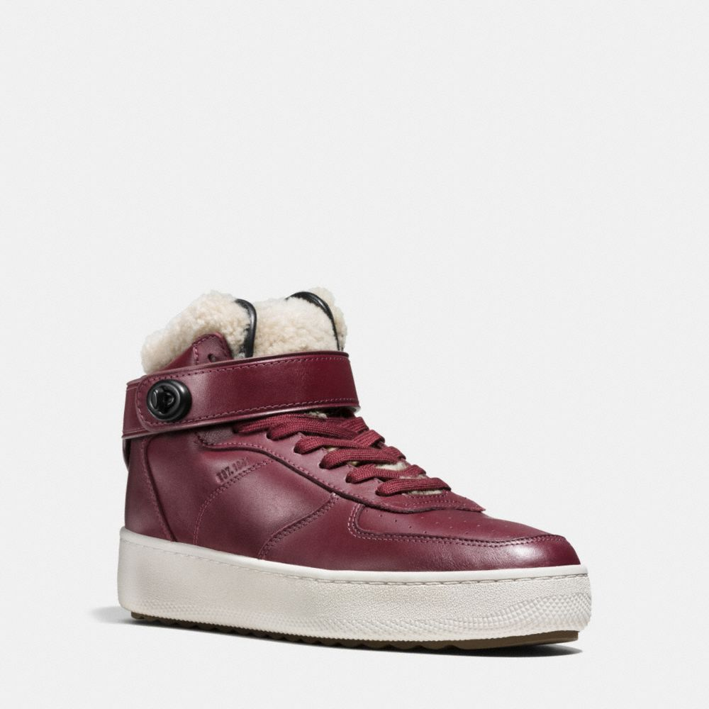 SHEARLING TURNLOCK C210 HIGH TOP SNEAKER - Alternate View