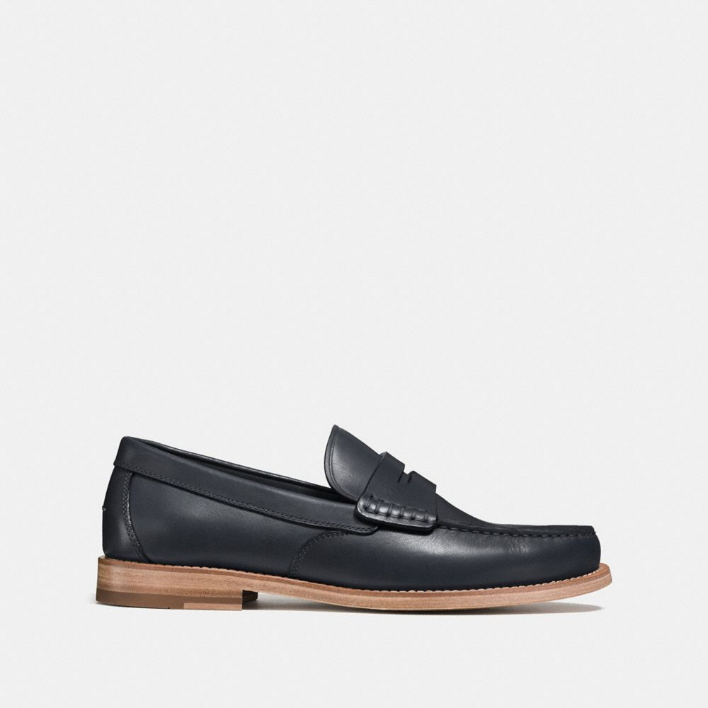 Manhattan Leather Loafer - Alternate View A1