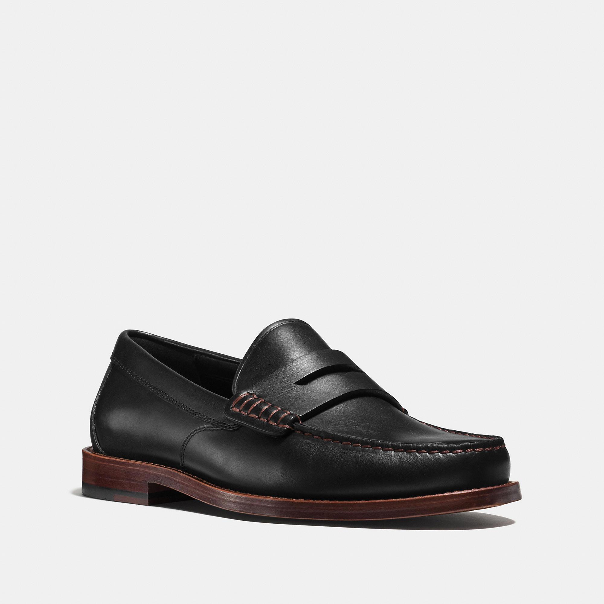 Coach Manhattan Leather Loafer