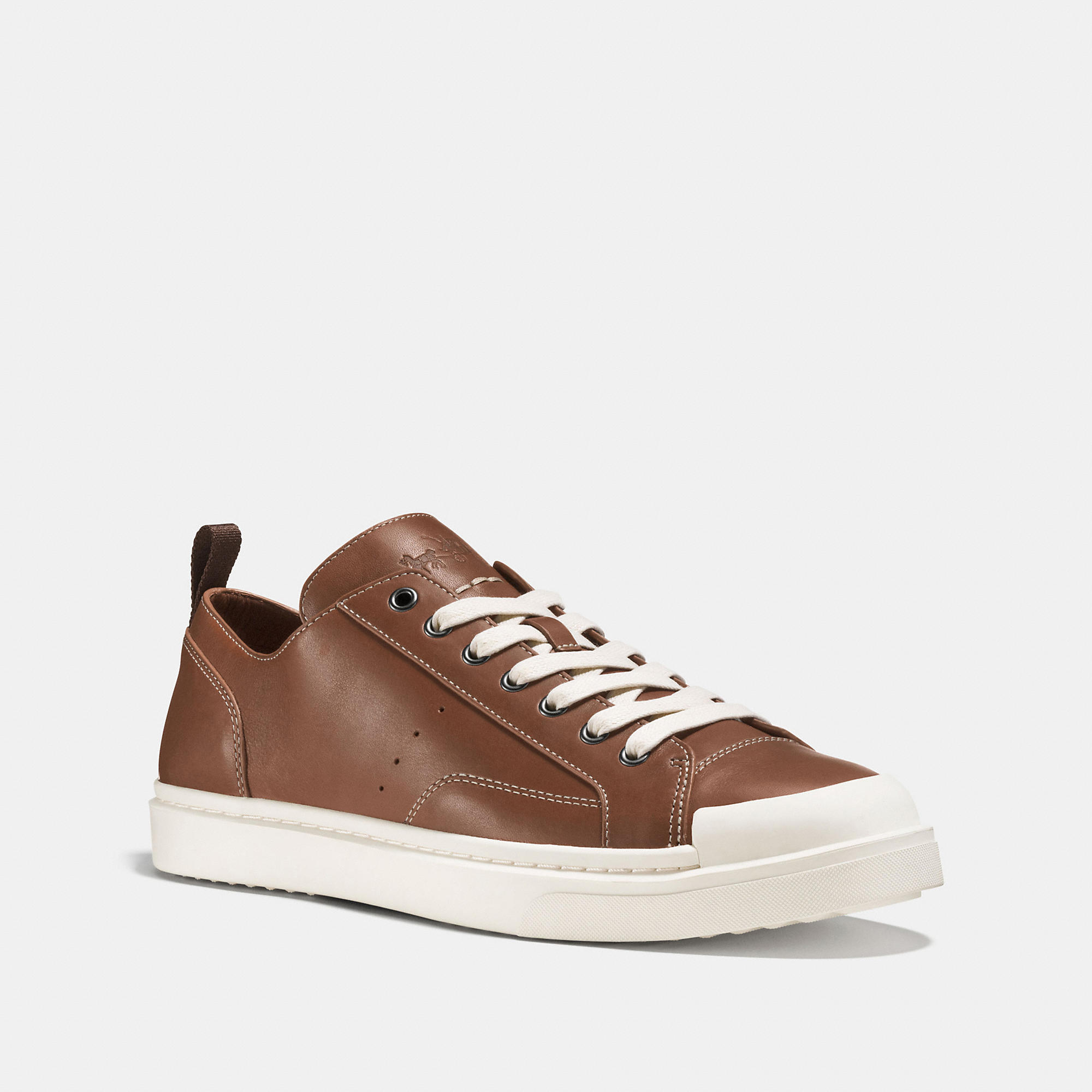 Coach C114 Leather Lo Top Sneaker