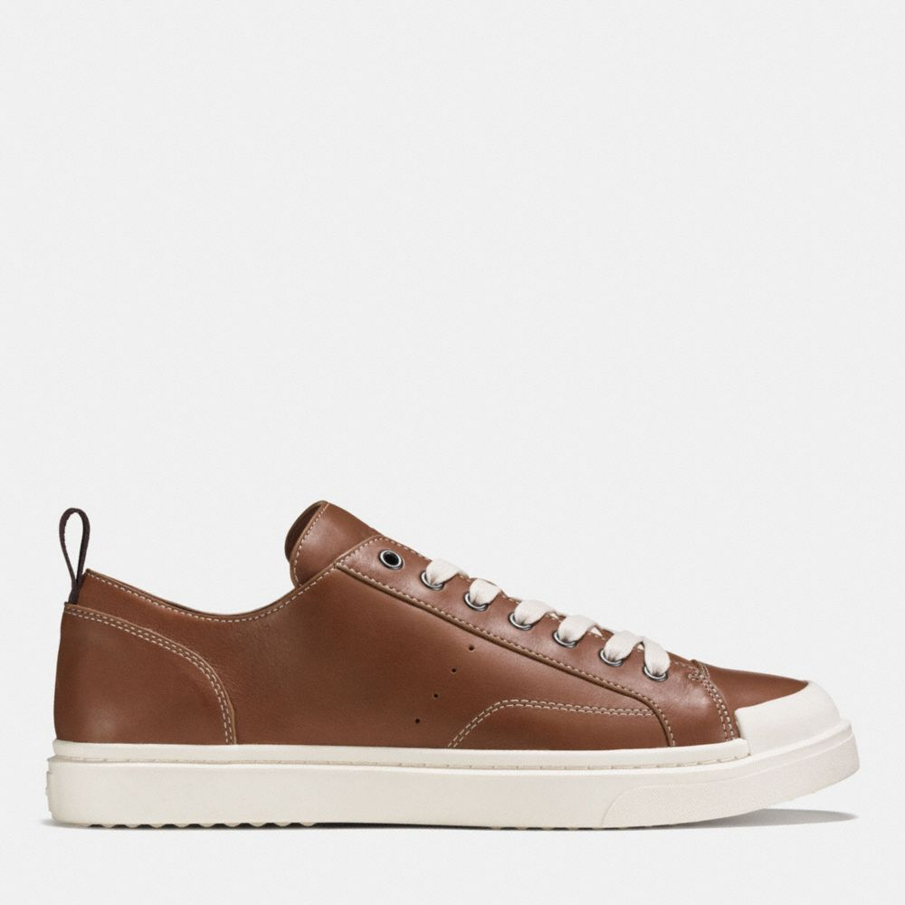 C114 LEATHER LO TOP SNEAKER - Alternate View