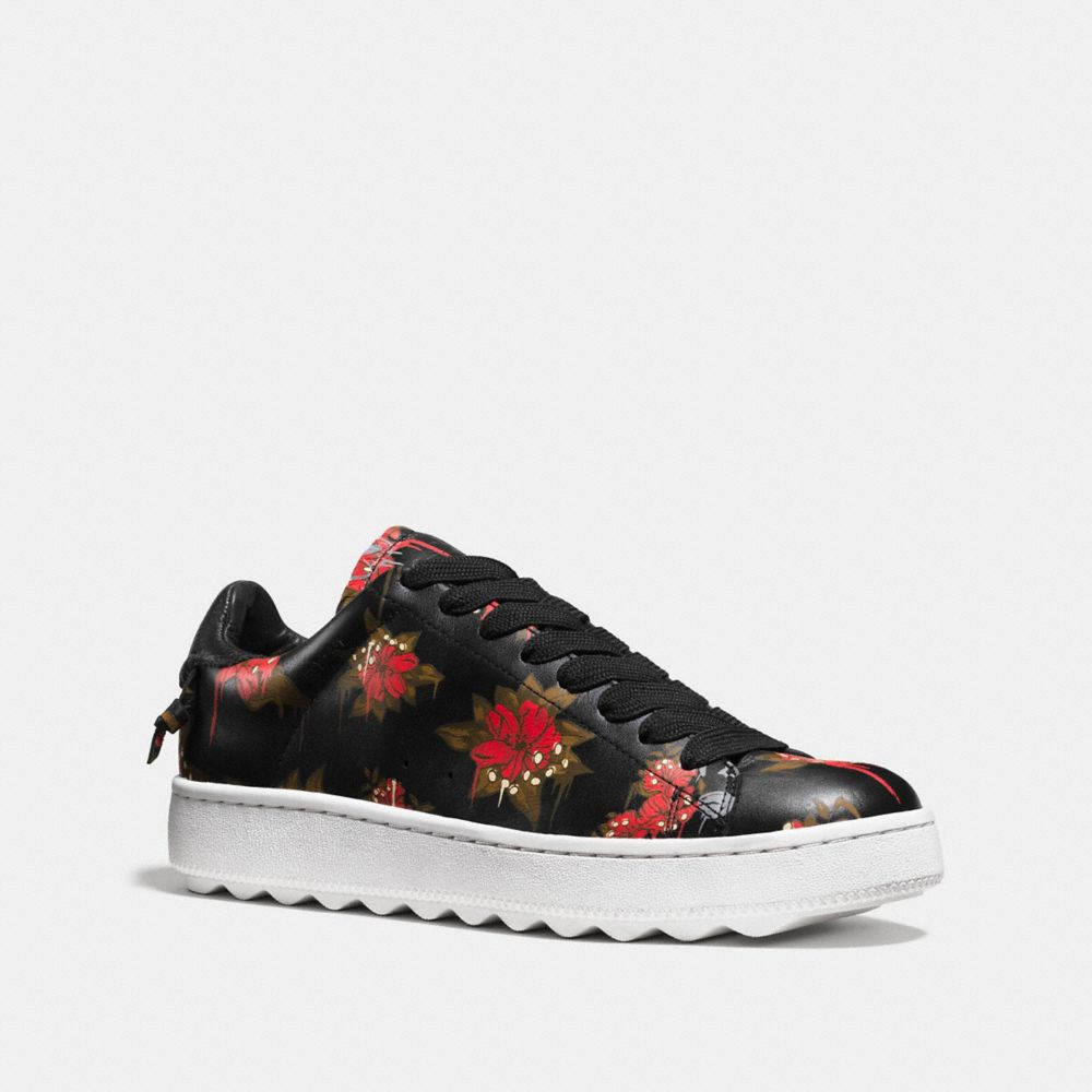 Coach C101 With Wild Lily Print