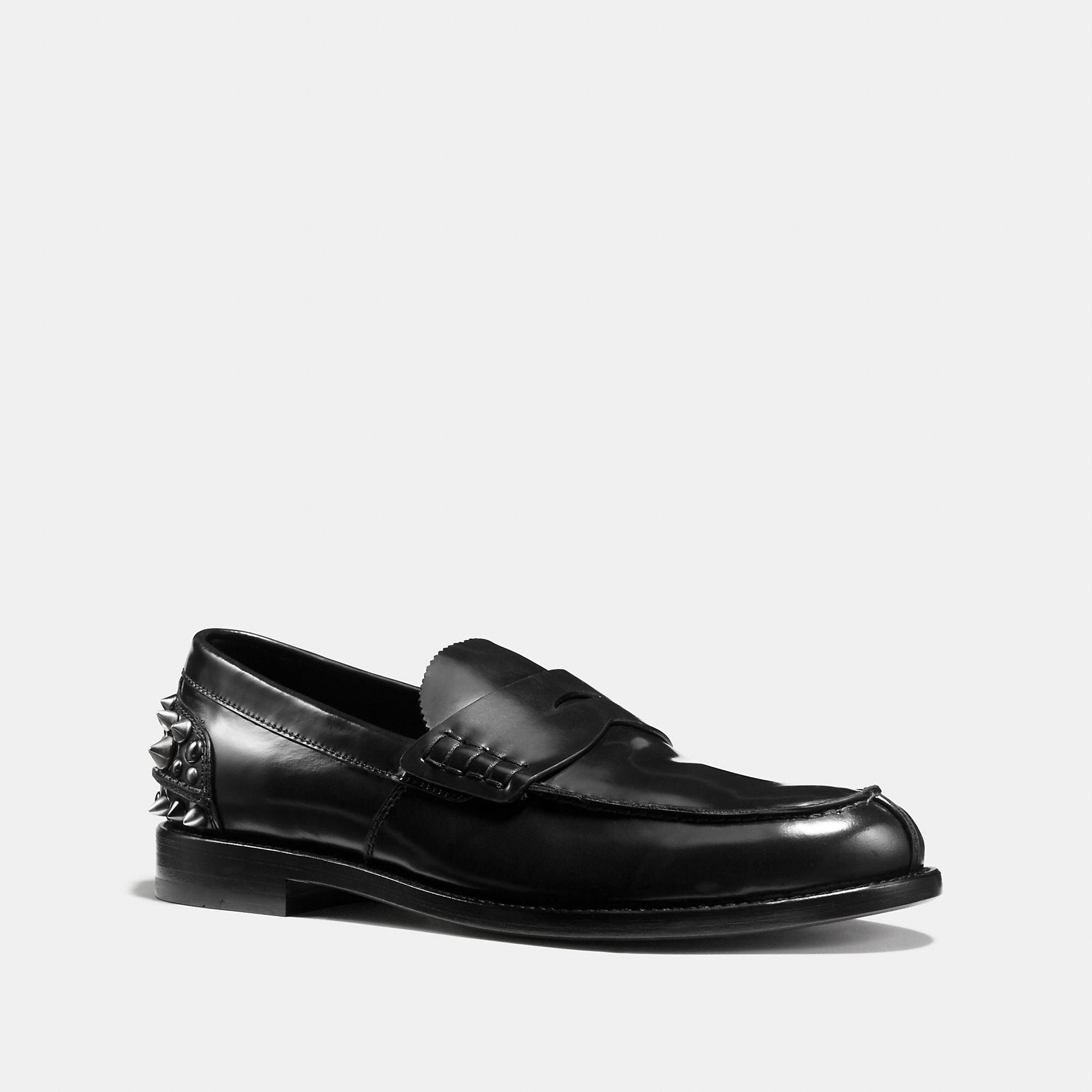 Coach Studded Loafer