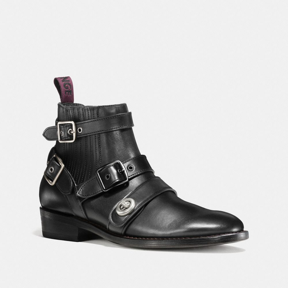 Coach Strapped Chelsea Biker Boot