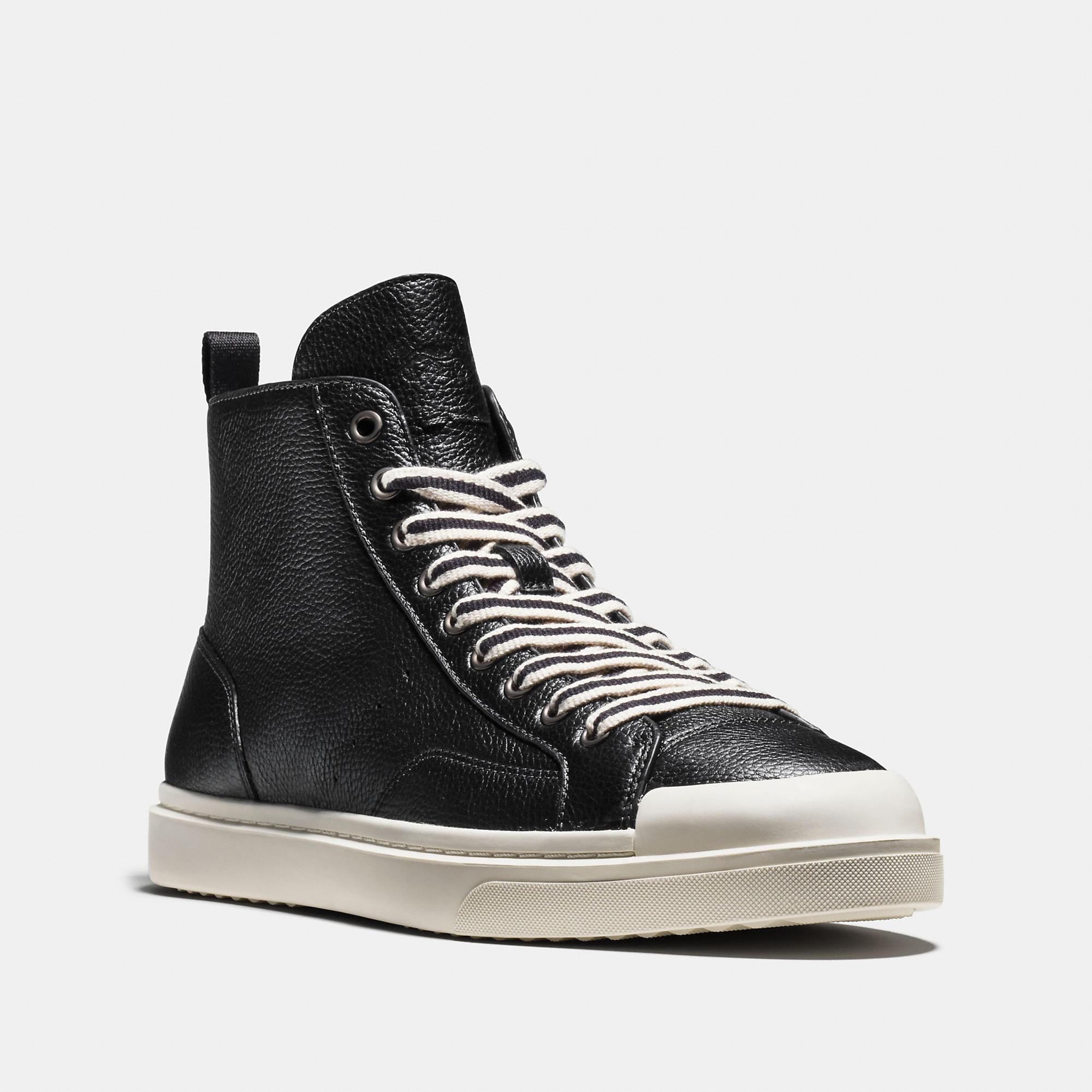 Coach C214 High Top Sneaker
