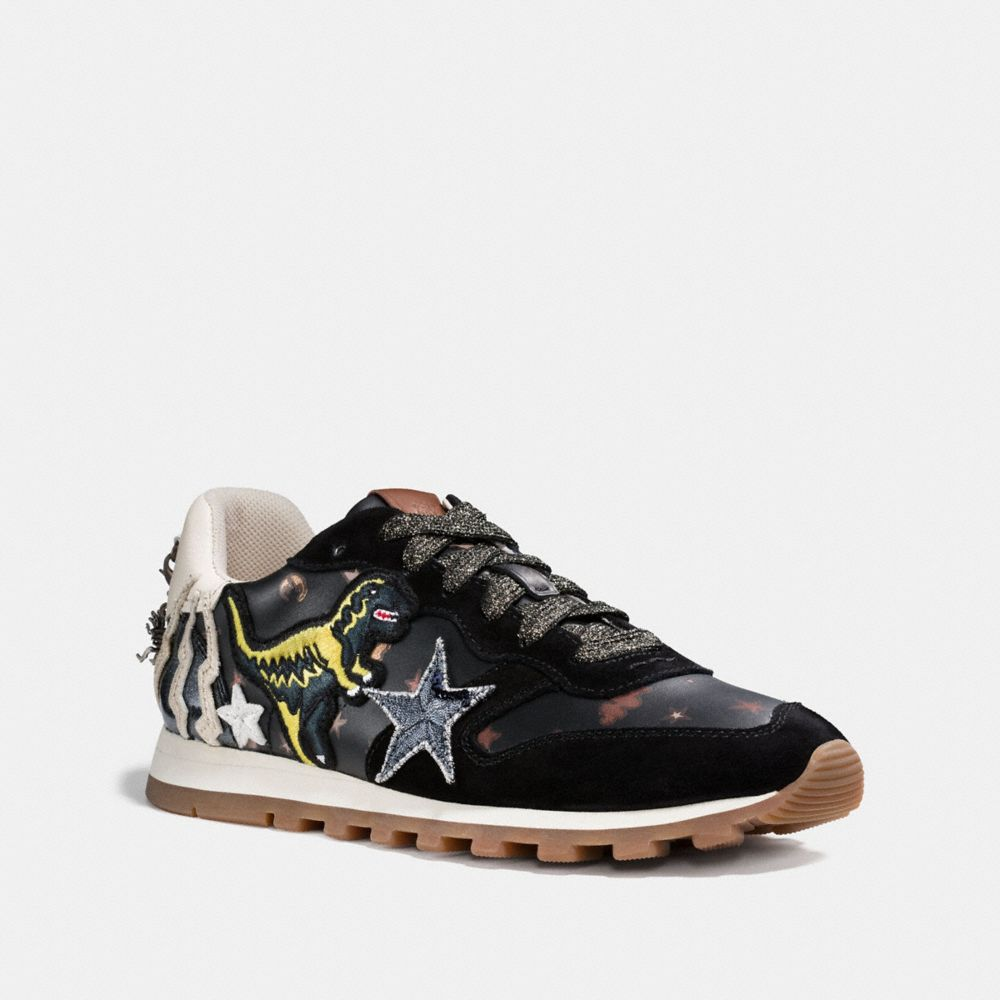 COACH C125 RUNNER WITH REXY PATCHES - WOMEN'S