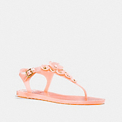 TEA ROSE MULTI JELLY SANDAL - PEONY - COACH G2070