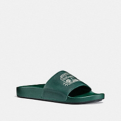 COACH X KEITH HARING SLIDE - EMERALD - COACH G2236