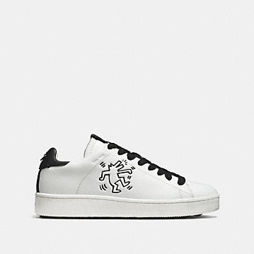 Coach X Keith Haring C101 Low Top Sneaker Coach Zf9a6x