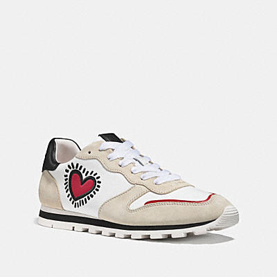 COACH X KEITH HARING C118 跑鞋