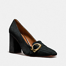 JADE LOAFER - BLACK - COACH G2391