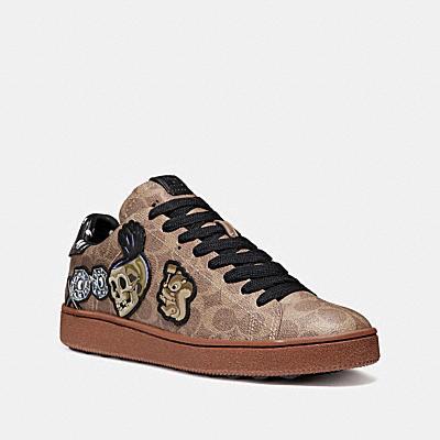 DISNEY X COACH C101 徽章運動鞋