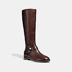 BRYNN RIDING BOOT - TOBACCO - COACH G2802