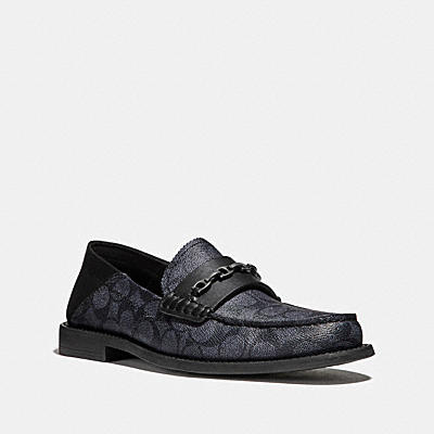 CHAIN LOAFER IN SIGNATURE CANVAS