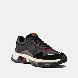 C143 SIGNATURE RUNNER - CHARCOAL/BLACK - COACH G3027