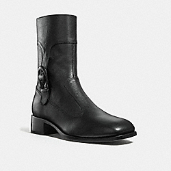 SIGNATURE BUCKLE BOOT - BLACK - COACH G3060