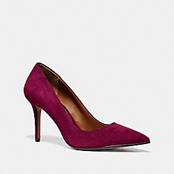 WAVERLY PUMP - DARK BERRY - COACH G3117