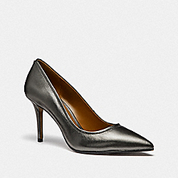 WAVERLY PUMP - GUNMETAL - COACH G3175