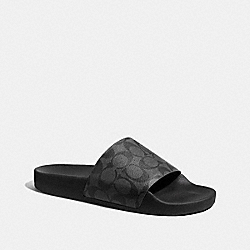 SLIDE - BLACK/BLACK - COACH G3507