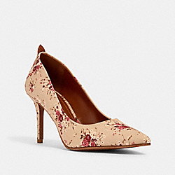 WAVERLY PUMP WITH FLORAL BUNDLE PRINT - BEECHWOOD MULTI - COACH G3724