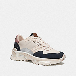 C143 RUNNER - CHALK/DUSTY ROSE - COACH G3863