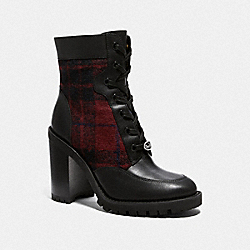 HEDY BOOTIE - RED/BLACK - COACH G4238