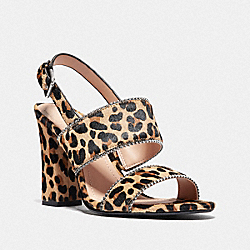 RYLIE SANDAL - NATURAL - COACH G4242
