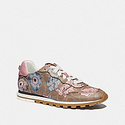 C118 RUNNER WITH KAFFE FASSETT PRINT - PINK/TAN - COACH G4559