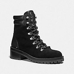 LORREN BOOTIE - BLACK/BLACK - COACH G4620