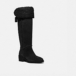 JANELLE BOOT - BLACK/BLACK - COACH G4675