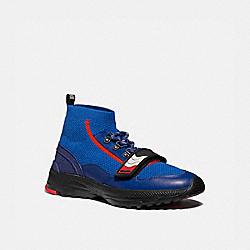 C243 ONE STRAP RUNNER - SPORT BLUE/MULTI - COACH G4681
