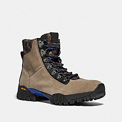 HYBRID COACH CITY HIKER BOOT WITH HORSE AND CARRIAGE PRINT - MUSHROOM MULTI - COACH G4694